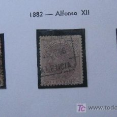 Sellos: 1882 ALFONSO XII EDIFIL 210/2. Lote 27477414