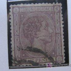 Sellos: 1875 ALFONSO XII EDIFIL 163. Lote 27477432