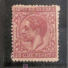 Sellos: ESPAÑA.- Nº 188 ALFONSO XII, IMPUESTO DE GUERRA NUEVO SIN GOMA , BUEN CENTRAJE.. Lote 17914165