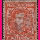 Sellos: 1876 CORONA REAL Y ALFONSO XII, EDIFIL Nº 182 (O) . Lote 21243996