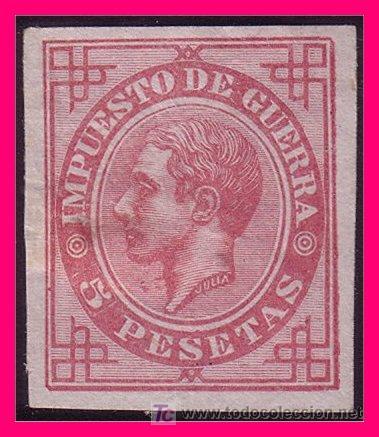 1876 ALFONSO XII, EDIFIL Nº 187S (*) (Sellos - España - Alfonso XII de 1.875 a 1.885 - Nuevos)