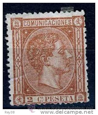 ALFONSO XII, 1875, 2 CTS (Sellos - España - Alfonso XII de 1.875 a 1.885 - Nuevos)