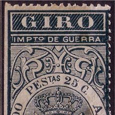 Sellos: FISCALES 1876 GIRO, ALEMANY Nº 112 * *. Lote 25009118