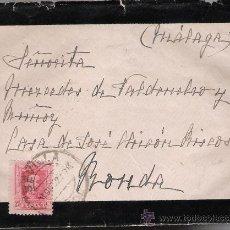 Sellos: CARTA DE SEVILLA A RONDA. DE 2 DE OCTUBRE DE 1927. FRANQUEADO CON SELLO 317.. Lote 27417633