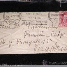 Sellos: CARTA DE SEVILLA A MADRID.DE 18 DE NOVIEMBRE DE 1929. FRANQUEADO CON SELLO 317.. Lote 27417944