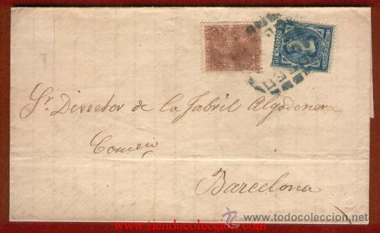 Sellos: 175, 188. Error de impresión en carta ¡¡¡CURIOSO Y RARO!!! - Foto 3 - 27627453