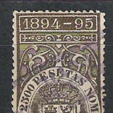 Sellos: 869-SELLO CLASICO DEUDA CUBA 1894-1895.1,25 PESETAS VALOR EDIFIL 15,00€,SIN DEFECTOS. Lote 28876669