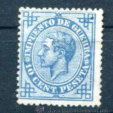 Sellos: 10 CTS IMPUESTO DE GUERRA. AÑO 1876. NUEVO SIN GOMA.. Lote 31276624