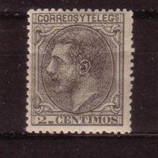 Sellos: ESPAÑA 200* - AÑO 1879 - REY ALFONSO XII. Lote 32525804