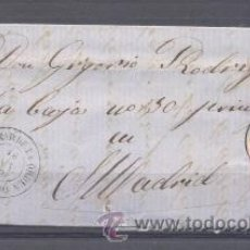 Sellos: 1859.- QUINTANAR DE LA ORDEN A MADRID. Lote 33122544