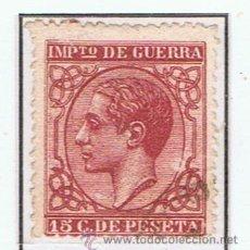 Sellos: ALFONSO XII IMPUESTO DE GUERRA 1877 NUEVO (*) VALOR 2012 CATALOGO 34 EUROS. Lote 34356661