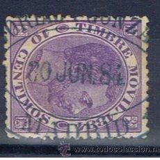 Sellos: ALFONSO XII TIMBRE MOVIL 1884 CON FECHADOR DE MADRID. Lote 34510508