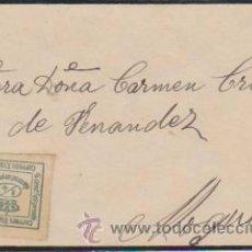 Sellos: PEQUEÑA CARTA DE SEVILLA A MOGUER. FRANQUEADO CON SELLO 173.. Lote 34942578