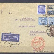 Sellos: 1936.- BERLIN (ALEMANIA) A NEW YORK (USA). Lote 35390697