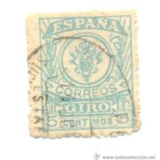 Sellos: 1- 5 CÉNTIMOS GIRO CORREOS A CLASIFICAR.. Lote 36252002