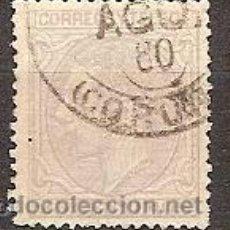 Sellos: SELLOS DE ESPAÑA REINADO DE ALFONDO XII EDIFIL 204 AÑO 1879 ALFONSO XII USADO . Lote 37017321