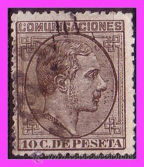 1878 ALFONSO XII, EDIFIL Nº 192 (O) (Sellos - España - Alfonso XII de 1.875 a 1.885 - Usados)