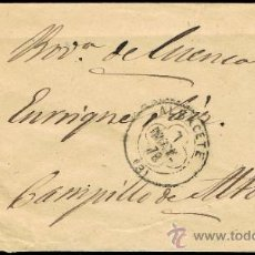 Sellos: ALBACETE - EDI O 175 + 188 - CARTA CIRC. - ROMBO PUNTOS Y TREBOL