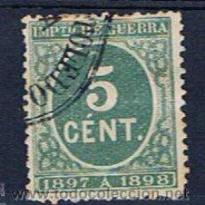 Selos: IMPUESTO DE GUERRA 1897 EDIFIL 232 MARCA TOLEDO VALOR 2013 CATALOGO 3.75 EUROS . Lote 39263160