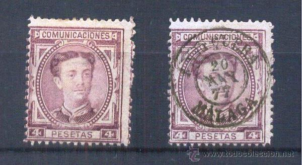 EDIFIL 181 */US 4 PTAS ALFONSO XII (Sellos - España - Alfonso XII de 1.875 a 1.885 - Nuevos)