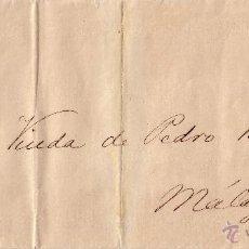 Sellos: ESPAÑA. (CAT. 201). 1881. IMPRESO DE CORREO INTERIOR DE MÁLAGA. 5 CTS. RARÍSIMO FRANQUEO IMPRESOS.. Lote 27530111
