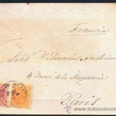 Sellos: 1889.- A PARÍS. Lote 41770088