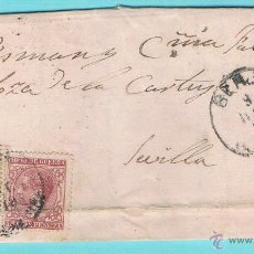 Sellos: 1879 BERJA (ALMERIA) A SEVILLA. Lote 47677705