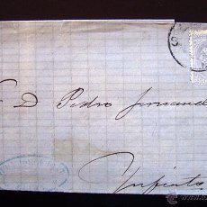Sellos: CARTA CIRCULADA . SELLO DE ALFONSO XII. 25 CENTIMOS . 9 DICIEMBRE 1880. Lote 48528317