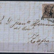 Sellos: 1878.- BARCELONA / ZAFRA (BADAJOZ). Lote 49878795