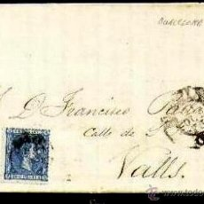 Sellos: CARTA EDIFIL 164 + 154A MATASELLO EN DESTINO. Lote 28497676