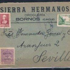 Sellos: BORNOS A SEVILLA. Lote 51176133
