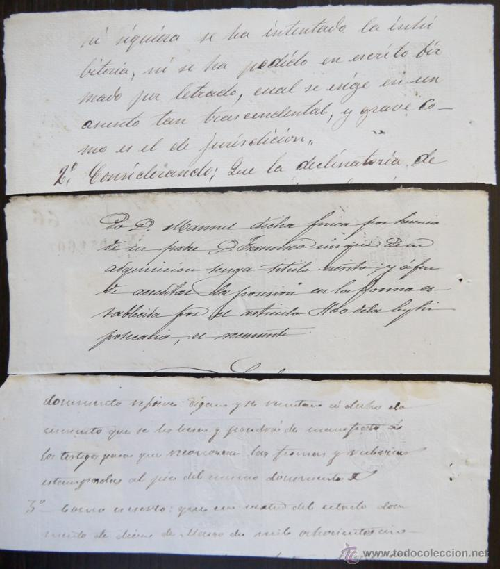 Sellos: TRES SELLOS CLASICOS FISCALES 1876, 1876 Y 1880. ANTIGUOS SELLOS FISCALES TIMBROLOGIA FILATELIA FISC - Foto 2 - 51388752