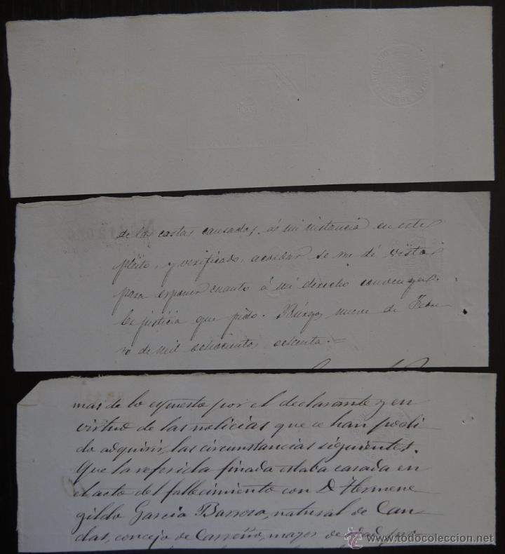 Sellos: TRES SELLOS CLASICOS FISCALES 1878, 1880 Y 1880. ANTIGUOS SELLOS FISCALES TIMBROLOGIA FILATELIA FISC - Foto 2 - 51388928