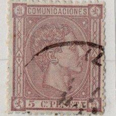 Sellos: 1875-SELLO DE ESPAÑA USADO Nº 163 ALFONSO XII . Lote 52768547