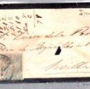 Sellos: CARTA DE SANTANDER A SEVILLA. 1875. CON SELLO DE IMPUESTO DE GUERRA. Lote 52814613