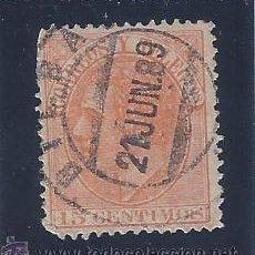 Sellos: EDIFIL 210 ALFONSO XII. 1882. EXCELENTE MATASELLOS DE BILBAO (21 JUN. 89).. Lote 53816050