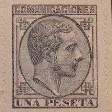 Sellos: SPAIN ESPAÑA 1 PTA 1878 ALFONSO XII SELLO STAMP NUEVO. Lote 54927256
