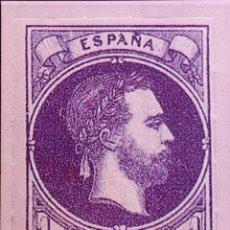Sellos: SPAIN ESPAÑA 1 REAL 1874 PRETENDIENTE CARLOS VII SELLO STAMP NUEVO. Lote 54929056