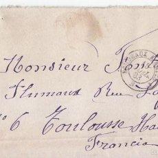 Sellos: SOBRE A FRANCIA. AMBULANTE NORTE. 1883. 25 CÉNTIMOS ALFONSO XII.. Lote 56299335
