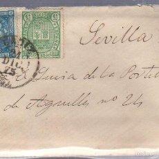 Francobolli: CARTA DIRIGIDA DE CADIZ A SEVILLA. VER SELLO. Lote 56866941