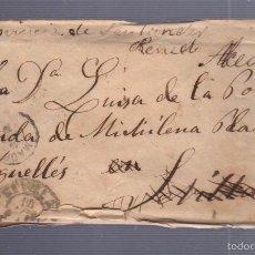 Sellos: CARTA DIRIGIDA DE MADRID - SEVILLA - ALCEDA. VER SELLO. Lote 56867342