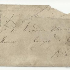 Francobolli: CIRCULADA 1875 DE NAVIA A OVIEDO TRANSICION FILATELICA REPUBLICA MONARQUIA. Lote 58389745