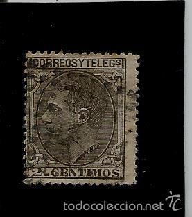 ALFONSO XII - EDIFIL 200 - 1879 (Sellos - España - Alfonso XII de 1.875 a 1.885 - Usados)