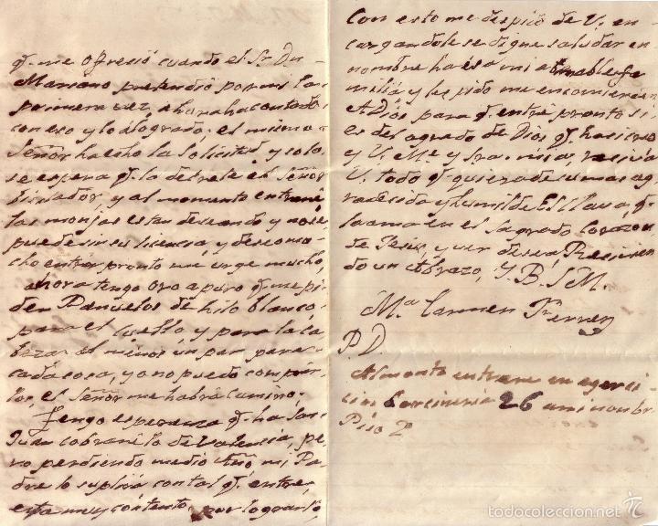 Sellos: Carta interior. Página 2 y 3 - Foto 3 - 60798815
