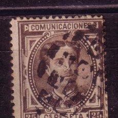 Sellos: BB12- ALFONSO XII 25 CTS EDIFIL 177. VARIEDAD CASTAÑO NEGRO (COMO EL 40 CTS). Lote 61356614