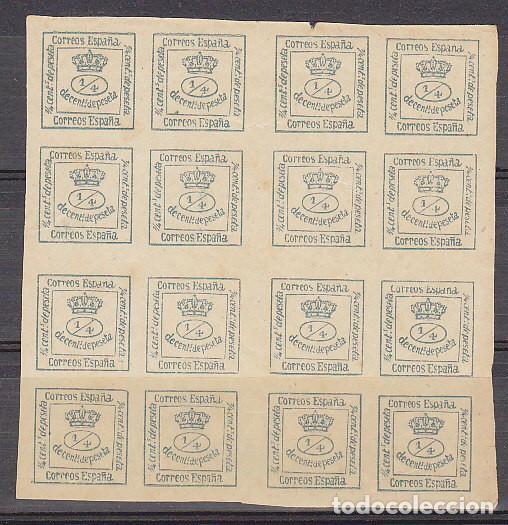 XX 173 . B-4 . CORONA REAL . 1876 (Sellos - España - Alfonso XII de 1.875 a 1.885 - Nuevos)