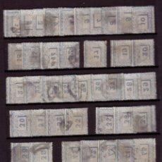 Sellos: ESPAÑA. (CAT. 164 (89)). 10 CTS. RECONSTRUCCIÓN DE LA PLANCHA DE 100 SELLOS. IDEAL PARA ESPECIALISTA. Lote 64490271