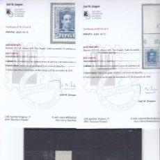 Sellos: CR CERT13 EDIFIL Nº 23 Y 24 SIN CHARNELA CENTRAJE DE LUJO. Lote 67610145
