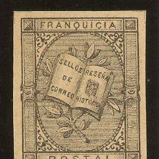 Sellos: FRANQUICIA POSTAL EDIFIL ESPECIALIZADO 7 (*) ALEGORÍA LITERARIA 1881 NL1236. Lote 68051481