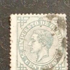 Timbres: USADO - EDIFIL 183 - SPAIN 1876 ALFONSO XII. Lote 71117021